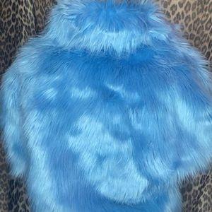 Dolls Kill Jackets & Coats - Faux Fur Jacket